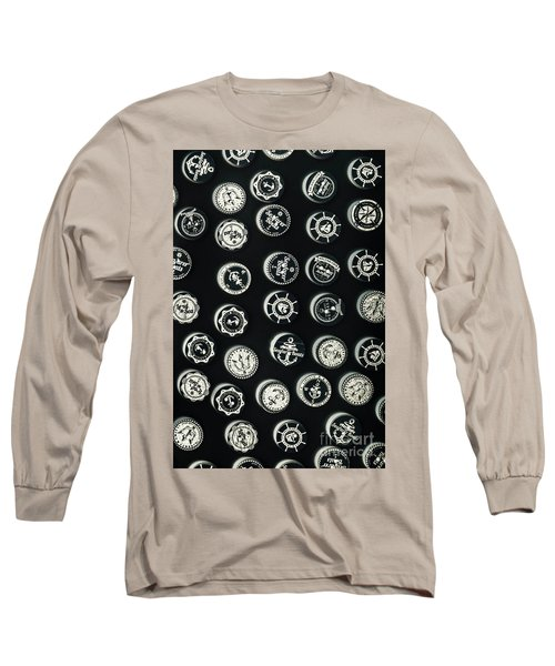Black Sea Insignia Long Sleeve T-Shirt