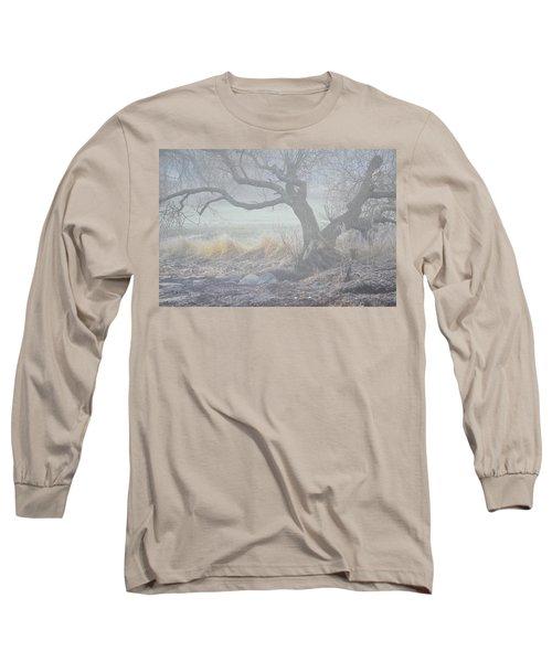 Long Sleeve T-Shirt featuring the photograph Blanket Of Fog by Randi Grace Nilsberg