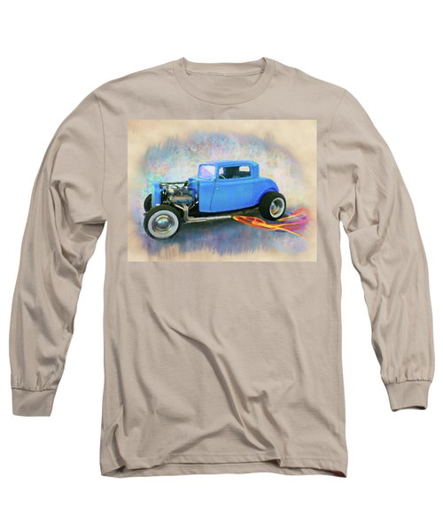 Blue 32 Ford Coupe Long Sleeve T-Shirt