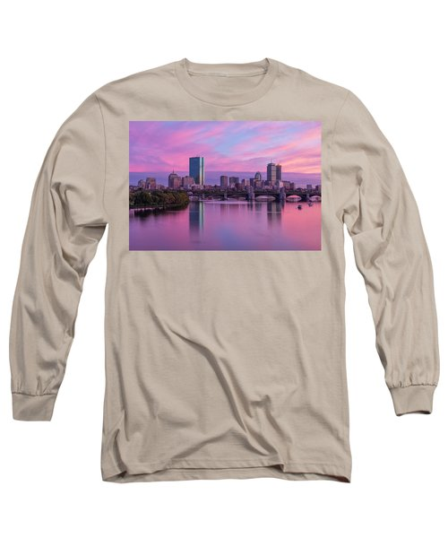 Boston Sunset Long Sleeve T-Shirt