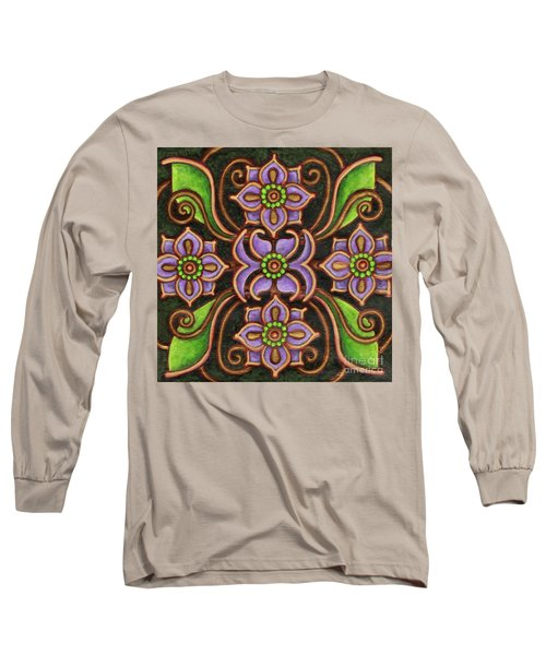 Botanical Mandala 6 Long Sleeve T-Shirt