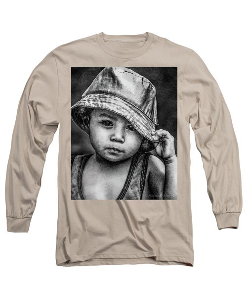 Long Sleeve T-Shirt featuring the photograph Boy-oh-boy by Michael Arend