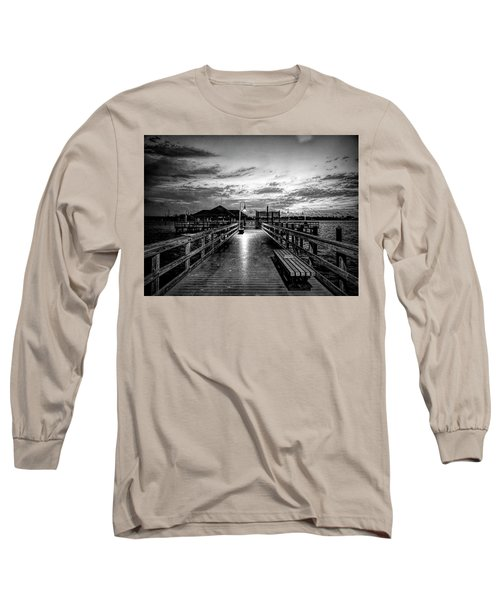 Bradenton Beach City Pier Long Sleeve T-Shirt