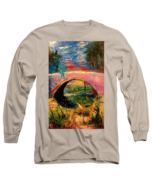 Bridge At City Park Long Sleeve T-Shirt