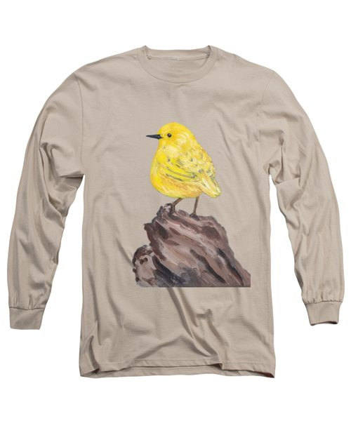 Long Sleeve T-Shirt featuring the painting Bright Spot #2 by Maria Langgle