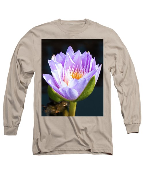 Brillance In Purple Long Sleeve T-Shirt