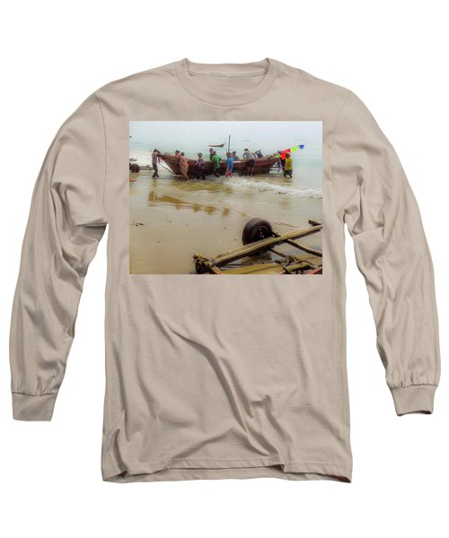 Bringing In The Catch Long Sleeve T-Shirt
