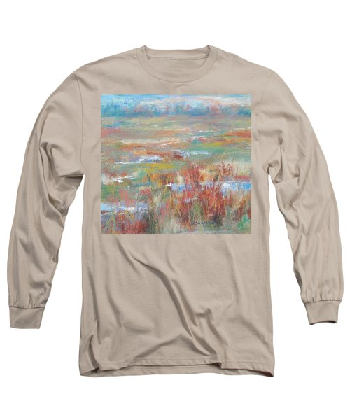 Brush Creek In Abstract Long Sleeve T-Shirt