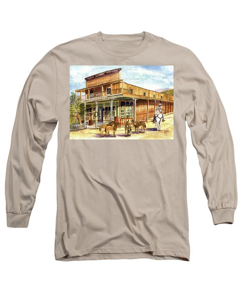 Burros Are Back In Town Long Sleeve T-Shirt
