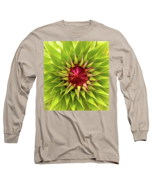 Burst Of Lime Long Sleeve T-Shirt