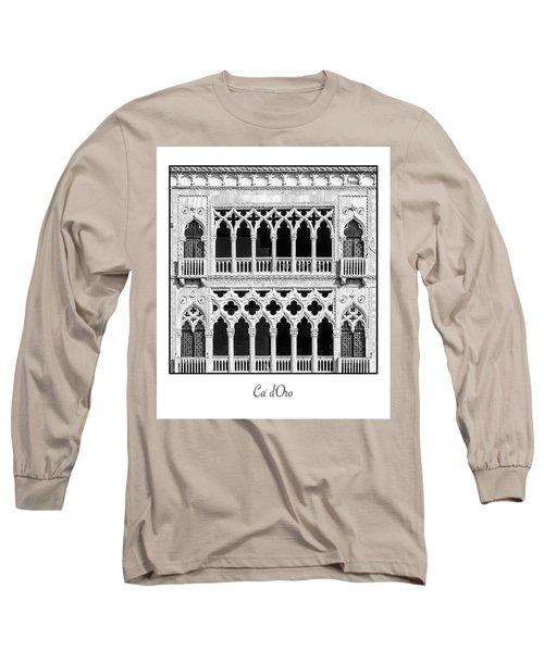 Ca' D'oro Long Sleeve T-Shirt