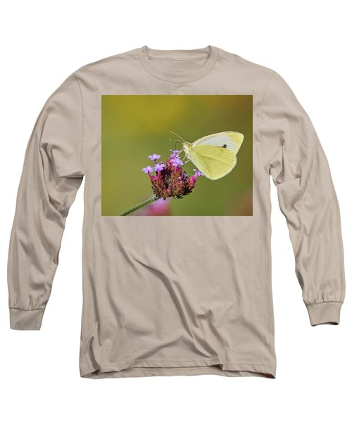 Cabbage White Butterfly Long Sleeve T-Shirt