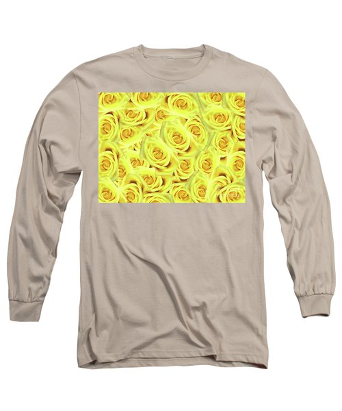 Long Sleeve T-Shirt featuring the photograph Candlelight Roses by Rockin Docks