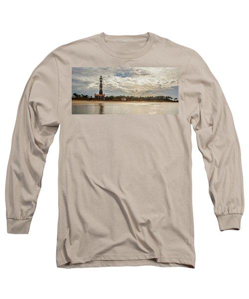 Cape Lookout Lighthouse No. 3 Long Sleeve T-Shirt