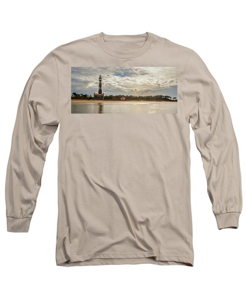 Cape Lookout Lighthouse No. 3 Long Sleeve T-Shirt