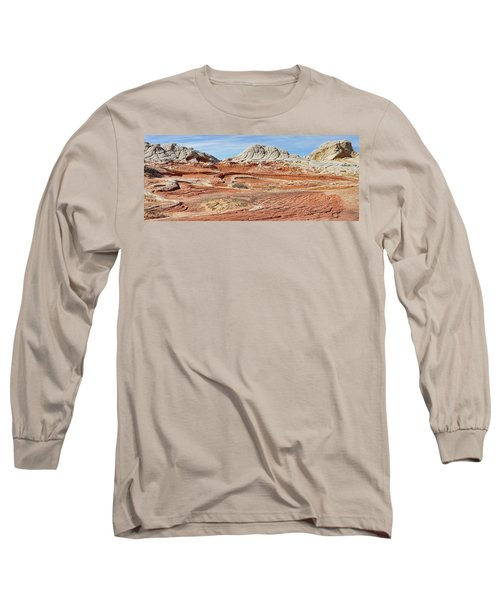 Carved In Stone Pano 2 Long Sleeve T-Shirt