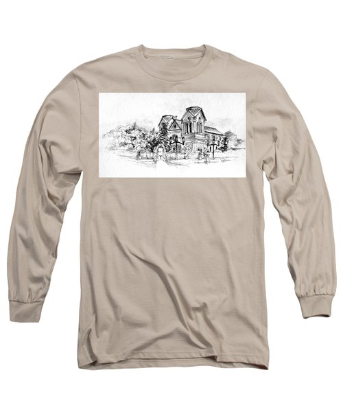 Cathedral Basilica Of St. Francis Of Assisi - Santa Fe, New Mexico Long Sleeve T-Shirt