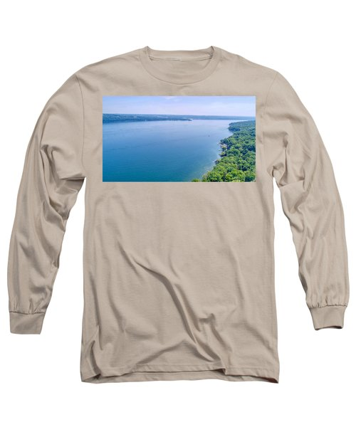 Cayuga From Above Long Sleeve T-Shirt