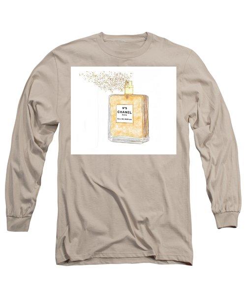 Chanel Splash Long Sleeve T-Shirt