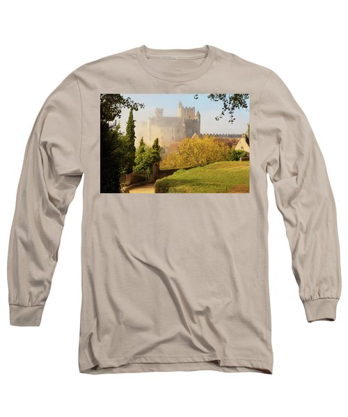 Chateau Beynac In The Mist Long Sleeve T-Shirt