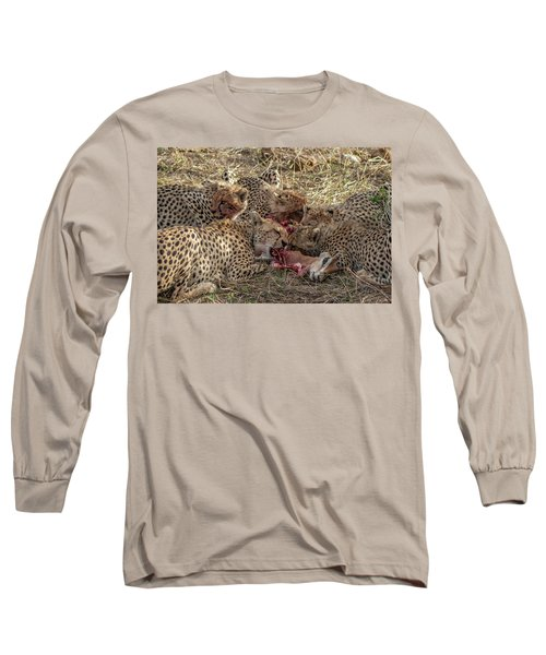 Cheetahs And Grant's Gazelle Long Sleeve T-Shirt