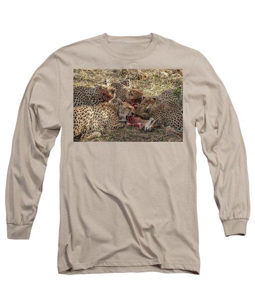 Cheetahs And Grant's Gazelle Long Sleeve T-Shirt