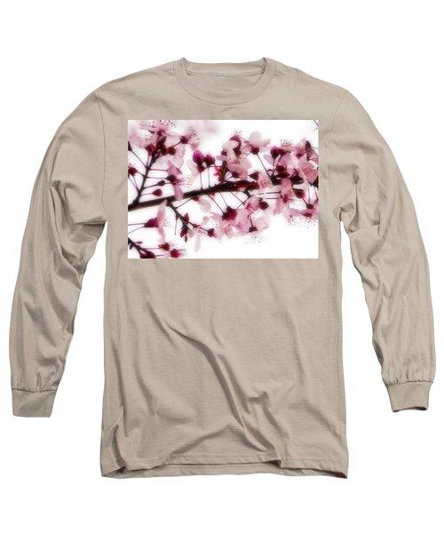 Cherry Triptych Center Panel Long Sleeve T-Shirt