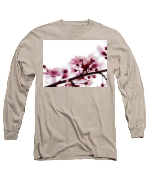 Cherry Triptych Left Panel Long Sleeve T-Shirt