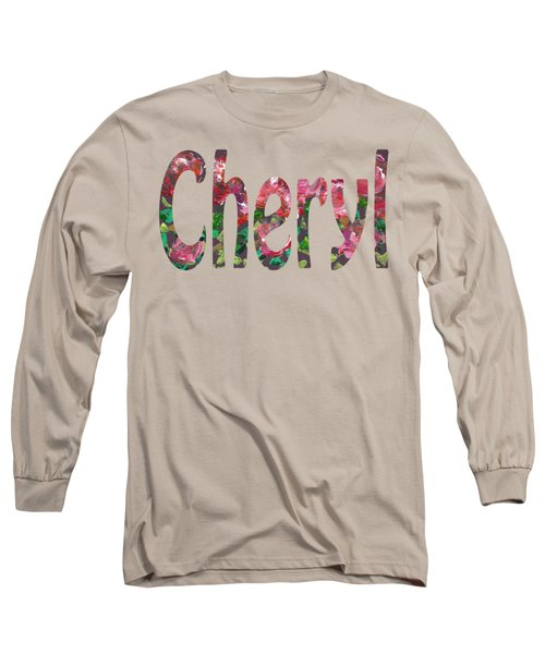 Cheryl Long Sleeve T-Shirt