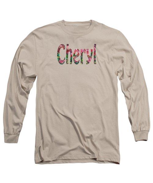 Cheryl Long Sleeve T-Shirt