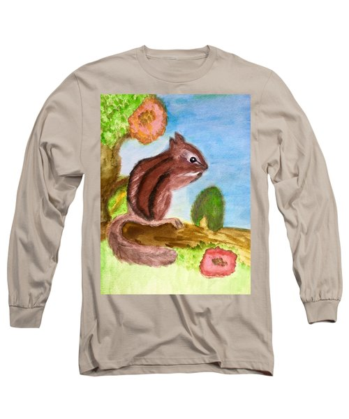 Chipmunk By Dee Long Sleeve T-Shirt