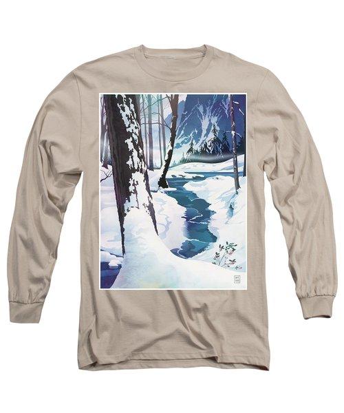Morning At Christmas Creek Long Sleeve T-Shirt