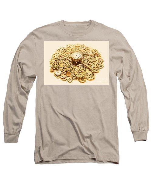 Circular Mechanics Long Sleeve T-Shirt