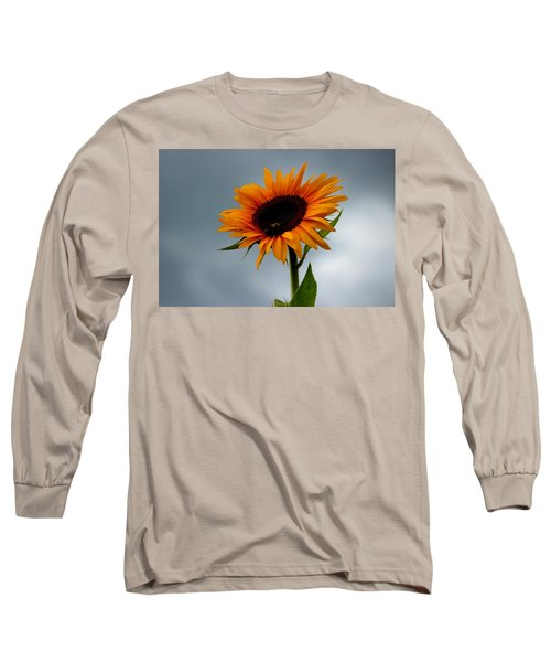 Cloudy Sunflower Long Sleeve T-Shirt