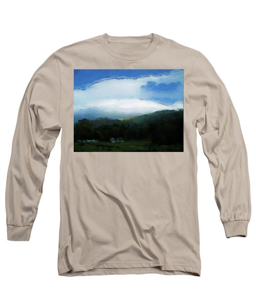 Cloudy View Painting Long Sleeve T-Shirt