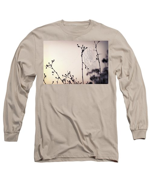 Cob Webbed Long Sleeve T-Shirt