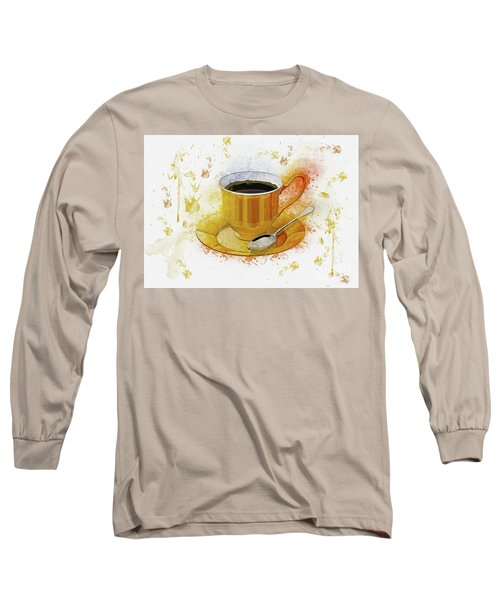 Coffee Art Long Sleeve T-Shirt