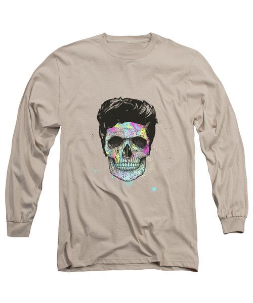 Color Your Skull Long Sleeve T-Shirt