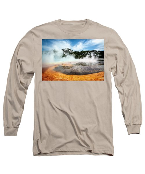 Long Sleeve T-Shirt featuring the photograph Colors Of Yellowstone by Scott Read