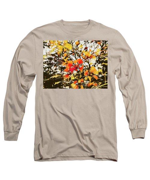 Colourful Leaves Long Sleeve T-Shirt
