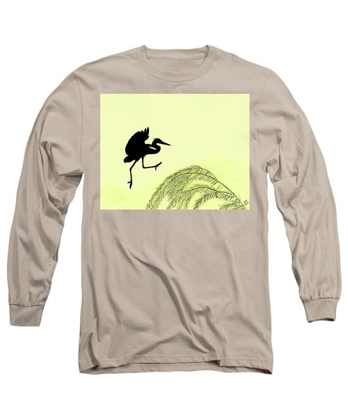 Coming In For A Landing Long Sleeve T-Shirt