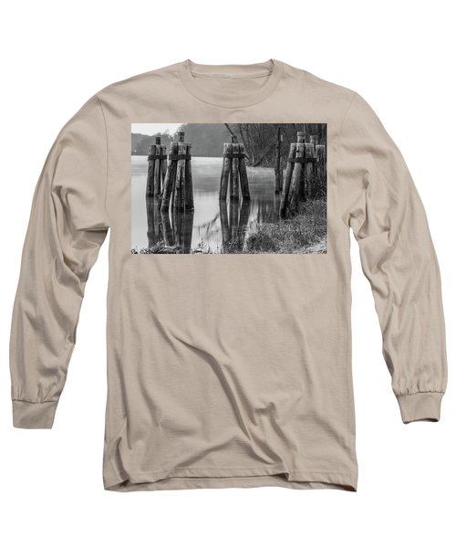 Connecticut River At Dawn Long Sleeve T-Shirt