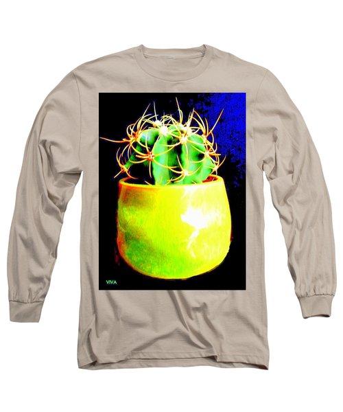 Contemporary Cactus Long Sleeve T-Shirt