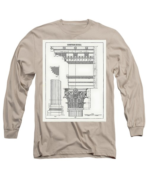 Corinthian Architecture Long Sleeve T-Shirt