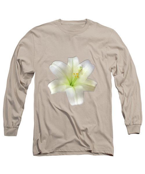 Long Sleeve T-Shirt featuring the photograph Cotton Seed Lilies by Rockin Docks