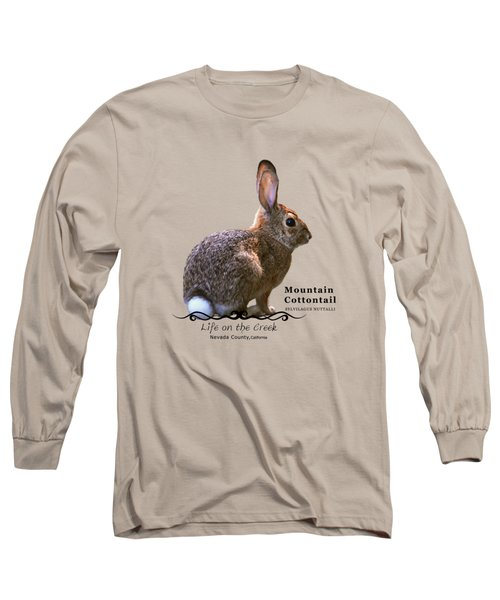 Cottontail Rabbit Long Sleeve T-Shirt