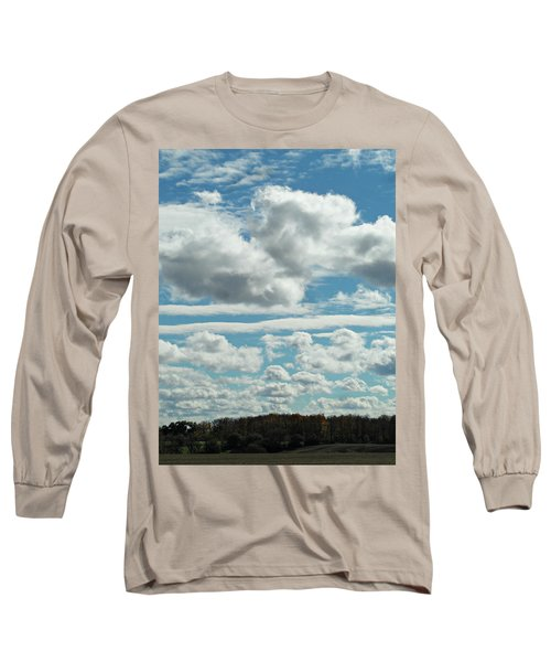 Country Autumn Curves Long Sleeve T-Shirt