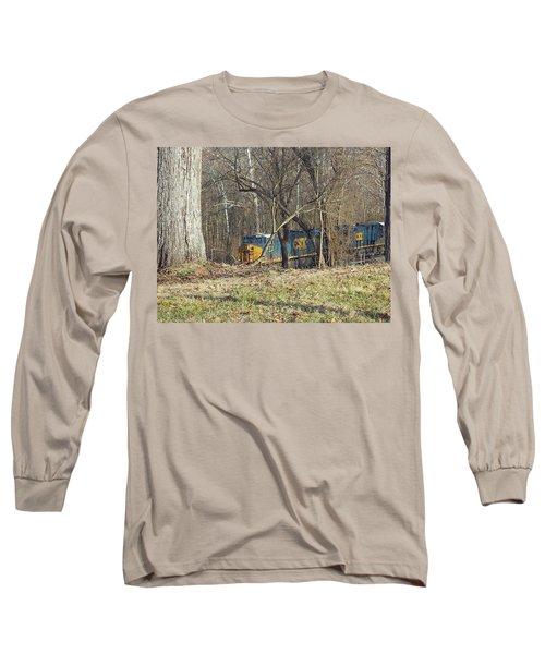 Country Train Long Sleeve T-Shirt