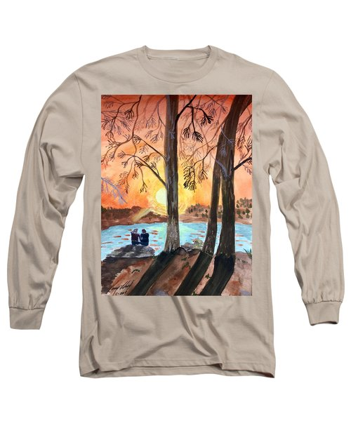 Couple Under Tree Long Sleeve T-Shirt