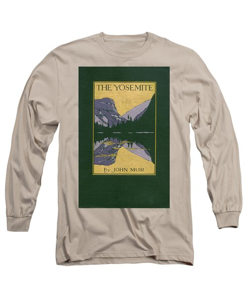 Cover Design For The Yosemite Long Sleeve T-Shirt